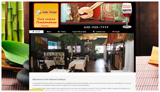 Le restaurant Nok Khao